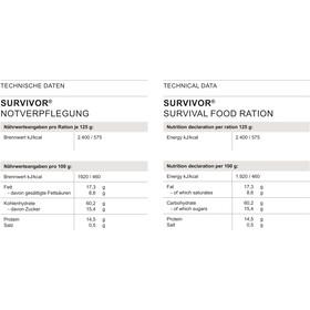 Trek'n Eat Survivor Survival Food Ration 125g
